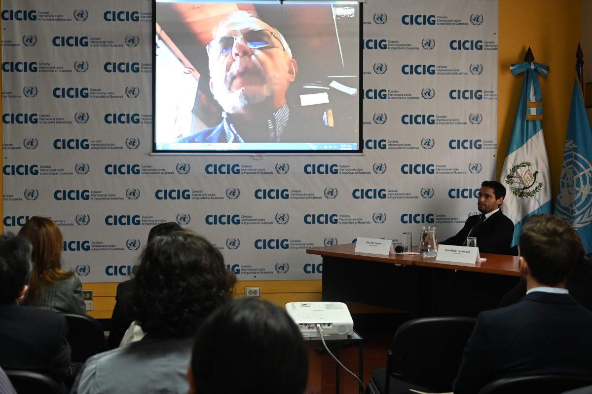 """Cicig se despide y advierte que Guatemala sigue siendo un """"Estado capturado"""""""