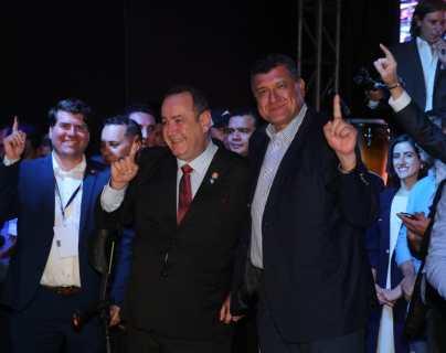Alejandro Giamattei obtiene la presidencia ganando en 14 departamentos
