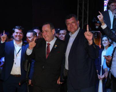 Alejandro Giamattei obtuvo el triunfo de las elecciones y se reafirmó en 14 departamentos. (Foto Prensa Libre: Érick Ávila)