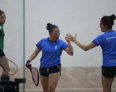 Ana Gabriela Martínez y María Renée Rodríguez ganan plata histórica en ráquetbol