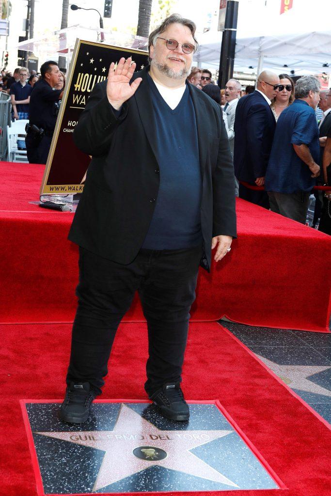 La estrella de Guillermo del Toro en la 2669 y está ubicada en la categoría de películas. (Foto Prensa Libre: EFE)