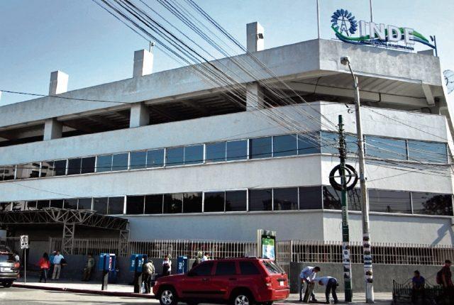 Sede del INDE en la zona 4 capitalina. (Foto Prensa Libre: Hemeroteca PL)