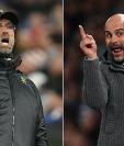 La Premier League volverá a vivir un duelo entre los estrategas Jürgen Klopp y Pep Guardiola. (Foto Prensa Libre: AFP)