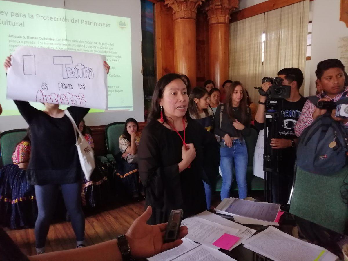 La realización de concursos de belleza en el Teatro Municipal de Quetzaltenango causa discordia