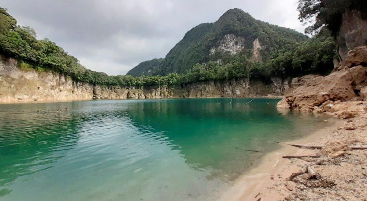 Falta de lluvia impacta en la Laguna Brava, cuyo nivel de agua baja unos tres metros