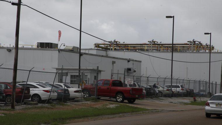 Fábrica Peco en Canton, Misisipi, donde el 7 de agosto del 2019 unos 200 guatemaltecos fueron arrestados, al igual que en otras cinco ciudades. (Foto Prensa Libre: Hemeroteca PL)