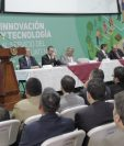 El presidente Jimmy Morales participó este jueves en el 30 Congreso de Anacafé. (Foto Prensa Libre: Cortesía)