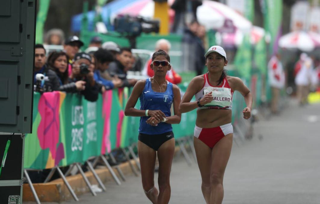 Mirna Ortiz conquista la plata en los 50 kilómetros de marcha en Lima 2019