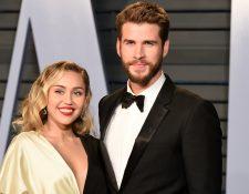 Miley Cyrus y Liam Hemsworth se casaron en el 2018. Sin embargo, su agente confirmó que la pareja se separó recientemente.  (Servicios).
