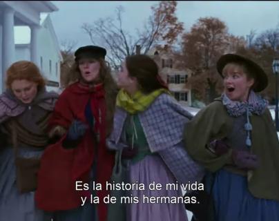 La nueva versión cinematográfica de Mujercitas se estrenará en enero de 2020. (Foto Prensa Libre: Captura de Video)