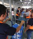 Tribunal Supremo Electoral finalizó con el embalaje de los materiales electorales. (Foto Prensa Libre: Hemeroteca PL)