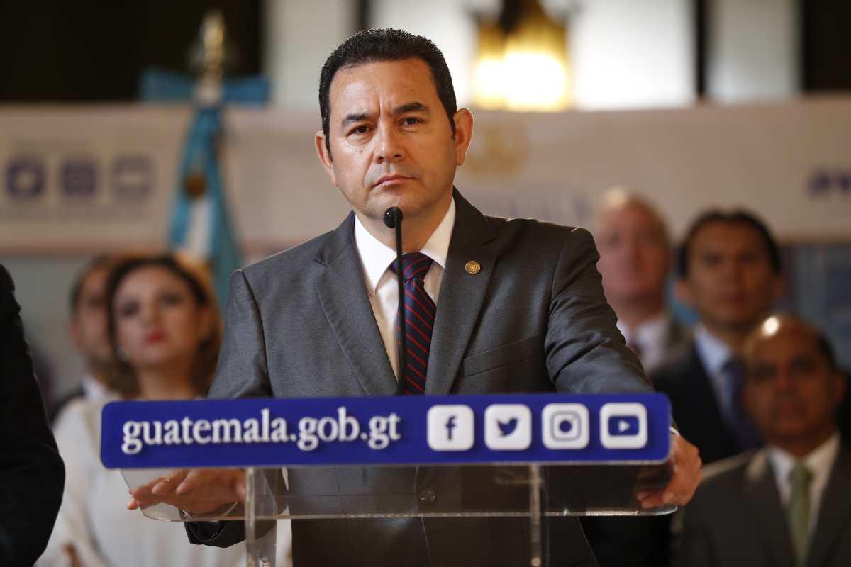 Guatemaltecos desaprueban gestión de Jimmy Morales