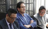 EN EL JUZGADO DE MAYOR RIESGO D SE DESRROLLO LA PRIMERA DECLARACION DEL CASO RED DE PODER, CORRUPCION Y LAVADO DE DINERO EN DONDE ESTAN IMPLICADOS EL EXPRESIDENTE OTTO PERZ MOLINA, GUSTAVO ALEJOS Y JUAN DE DIOS RODRIGUEZ.  NOE MEDINA 16082019