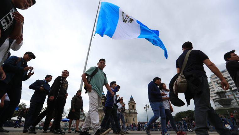 El país descendió una posición en el Índice de Desarrollo Humano. (Foto Prensa Libre: Hemeroteca PL)