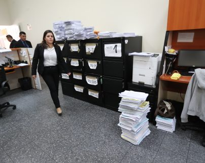 Los Juzgados de Primera Instancia Penal en Materia Tributaria y Aduanera, serán los que deberán de resolver sobre las solicitudes de información bancaria para fines de fiscalización contra los contribuyentes. (Foto Prensa Libre: Hemeroteca)