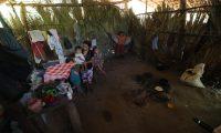 Familias de aldea del caser'o Cementerio Camotan Chiquimula sufren de desnutrici—n varios ni–os son afectados de este amla ya que no cuentan con una alimentaci—n adecuada.  Fotograf'a. Erick Avila:               29/08/2019