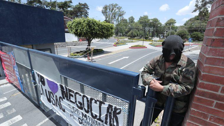 Solución al conflicto por cierre de la Usac está en manos del Consejo Superior Universitario