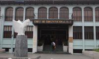 Sede de la Corte de Constitucionalidad. (Foto Prensa Libre: Hemeroteca PL)