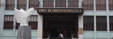 La Corte de Constitucionalidad seguirá con el trámite para una resolución definitiva.  (Foto Prensa Libre: Hemeroteca PL)