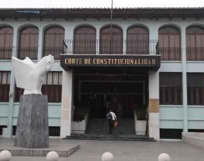 El viernes último, la Corte de Constitucionalidad dio trámite a un amparo a favor de la CICIG. (Foto Prensa Libre: Hemeroteca PL)
