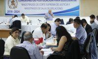 Las comisiones de postulación paralizaron el trabajo por recursos legales pendientes. (Foto Prensa Libre: Hemeroteca PL)