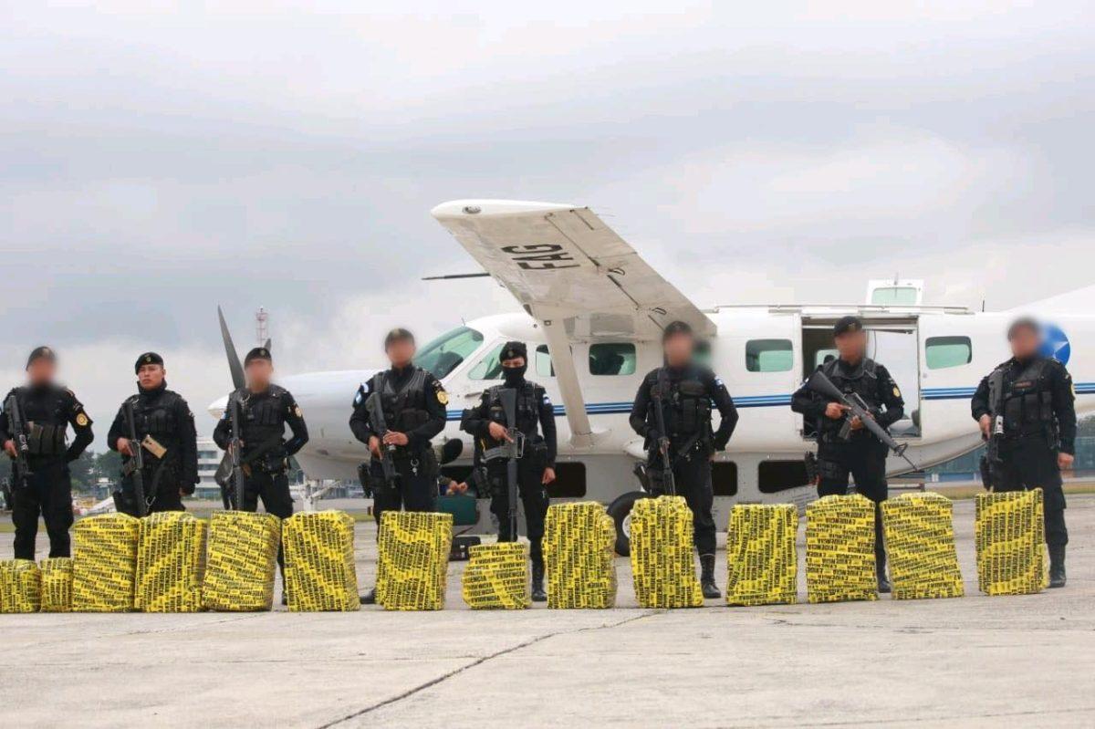 Droga decomisada en Petén está valorada en Q43.3 millones