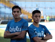 Mario Pacay y Williams Julajuj participarán en la tradicional carrera 21k. (Foto Prensa Libre: Carlos Vicente)