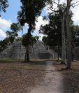La ciudad de Witzná estaba ubicada a 35 kilómetros de El Naranjo, donde está actualmente el Parque Nacional de Yaxhá. (Foto Prensa Libre: Hemeroteca)