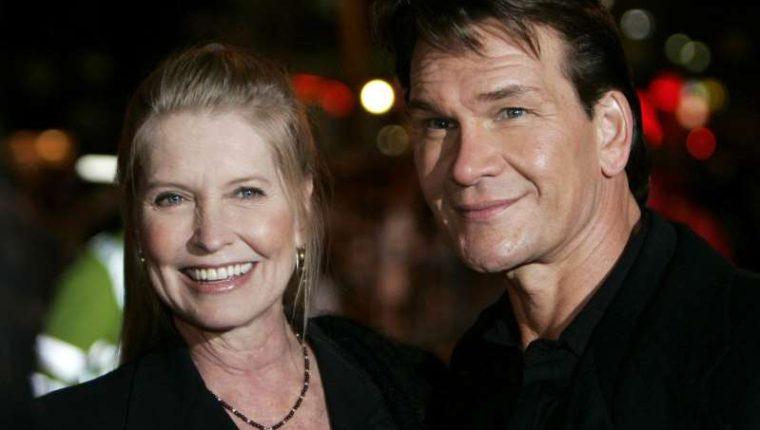 Patrick Swayze y su esposa Lisa Niemi. (Foto AP tomada de el Clarín).