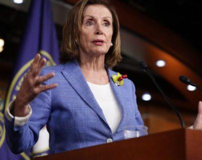 Nancy Pelosi arribará al país mañana (Foto Prensa Libre: AFP)
