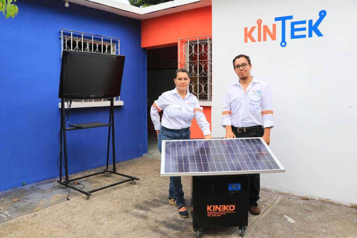 Conozca la Ekoplanta, la generadora de electricidad amigable con el medioambiente