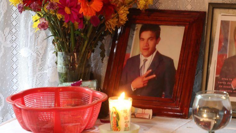 Jonathan Monterroso Morales perdió la vida en su intentó por buscar el sueño americano. (Foto Prensa   Libre: Mynor Toc)