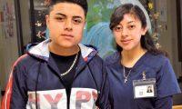 Yustin y Anyelin Vasquez Lopez. (Foto Prensa Libre: https://www.schoolnewsnetwork.org)