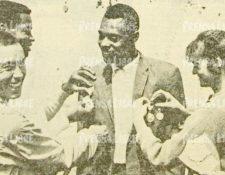 Teodoro Palacios Flores fue abanderado en los Juegos Olímpicos de México 1968