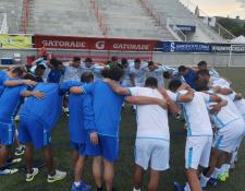 El técnico Amarini Villatoro espera conseguir un buen resultado frente a la República Dominicana. (Foto Prensa Libre: Fedefut)