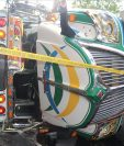 El accidente sucedió en el kilómetro 22 de la ruta RN-18 que conduce de San Jose Pinula hacia Mataquescuintla, en Jalapa. (Foto Prensa Libre: CVB)