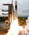 India busca convertirse en la cuarta nación después de Rusia, Estados Unidos y China en colocar una nave espacial en la Luna. La Chandrayaan-2 partió el 22 de julio pasado.
