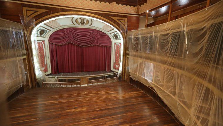 En los últimos meses el Teatro Municipal de Quetzaltenango está en un proceso de restauración. (Foto Prensa Libre: Archivo)