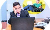 PORTADA EFECTIVO. Sesión de fotografías para graficar un tema sobre el trabajo en oficina vs. Trabajo en la casa.  Juan Diego González.  160819