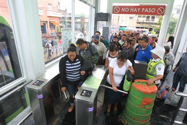 Transmetro dará servicio gratis este domingo con motivo de segunda vuelta electoral