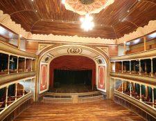 El Teatro Municipal de Quetzaltenango cumplió 124 años este 2019 . (Foto Prensa Libre: María Longo)