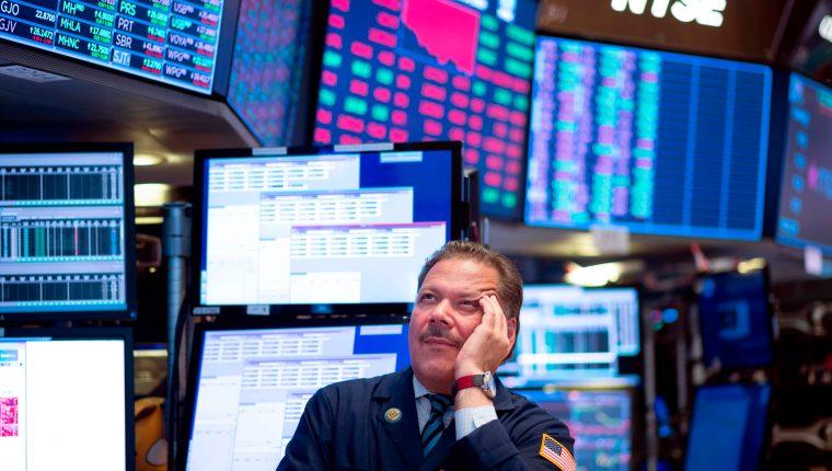 La guerra económica con China es un factor determinante para el comportamiento de las bolsas de EE. UU. (Foto Prensa Libre: AFP)