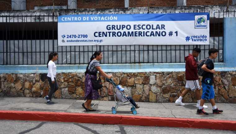 Los guatemaltecos elegirán este domingo al binomio presidencial del período 2020-2024. (Foto Prensa Libre: Hemeroteca PL)