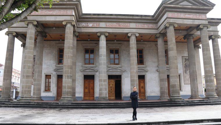 Vanesa Rivera asumió la administración del teatro en el 2017. (Foto Prensa Libre: Archivo)