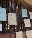 Este jueves el Cunoc está cerrado en protesta a las autoridades de la Usac. (Foto Prensa Libre: María Longo)