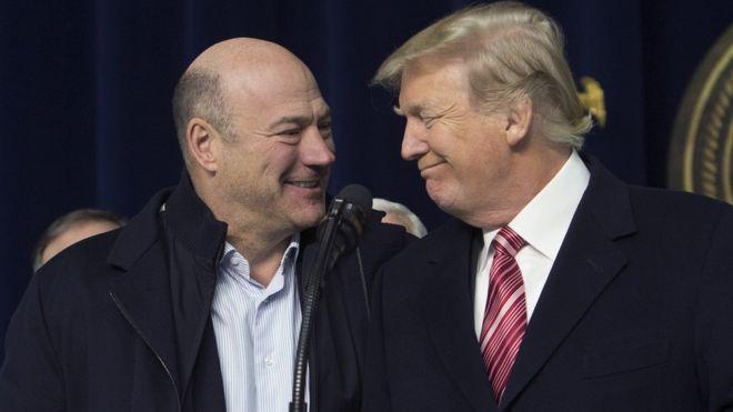 Gary Cohn fue director del Consejo Económico Nacional en el gobierno de Trump entre enero de 2017 y abril de 2018. GETTY IMAGES