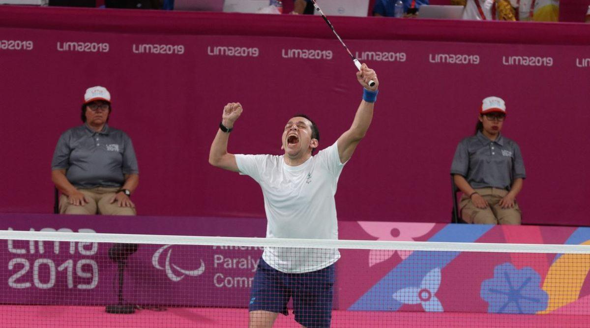 Raúl Anguiano gana una histórica medalla de oro en el parabádminton de Lima 2019