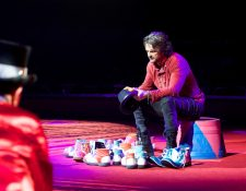 "23 temas destaca Ricardo Arjona en ""Circo Soledad en Vivo"". (Foto Prensa Libre: Metamorfosis/Sony Music)"