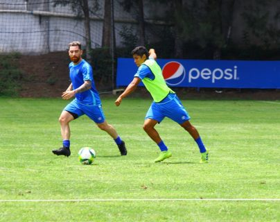 Pedro Altán fue separado del grupo y estará en constante comunicación con el médico del club. (Foto Prensa Libre: Luis López)