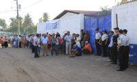 Foto 2: Más de nueve mil fue el padrón en esta ocasión en Sipacate, municipio recién formado donde se eligieron a sus autoridades.